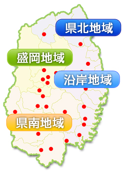 岩手県MAP
