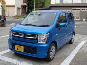 ワゴンR青